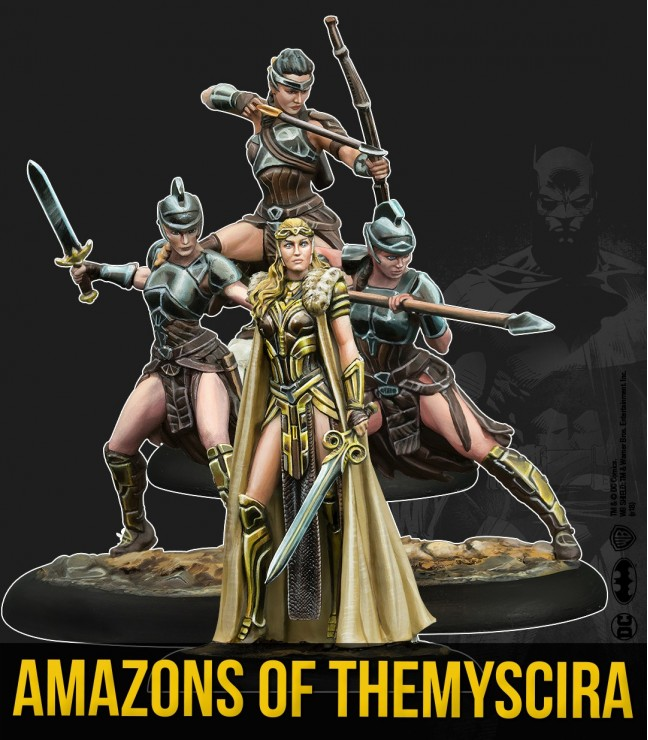 AMAZONS OF THEMYSCIRA (MULTIVERSE)