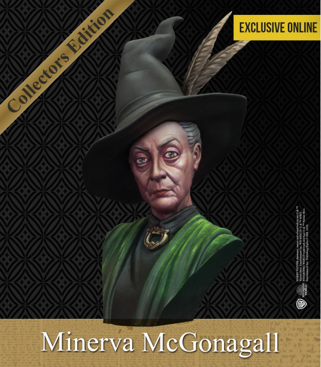 MINERVA MCGONAGALL'S BUST 1/10 SCALE
