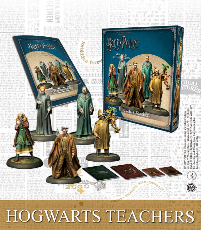 HOGWARTS TEACHERS (ENGLISH)
