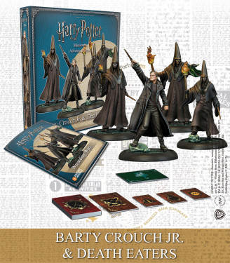 BARTY CROUCH JR. & DEATH EATERS (ENGLISH)