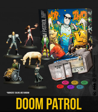 Batman Miniature Game : Doom Patrol