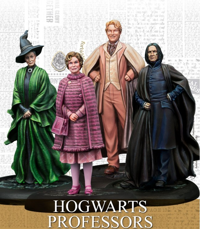 HOGWARTS PROFESSORS (ENGLISH)