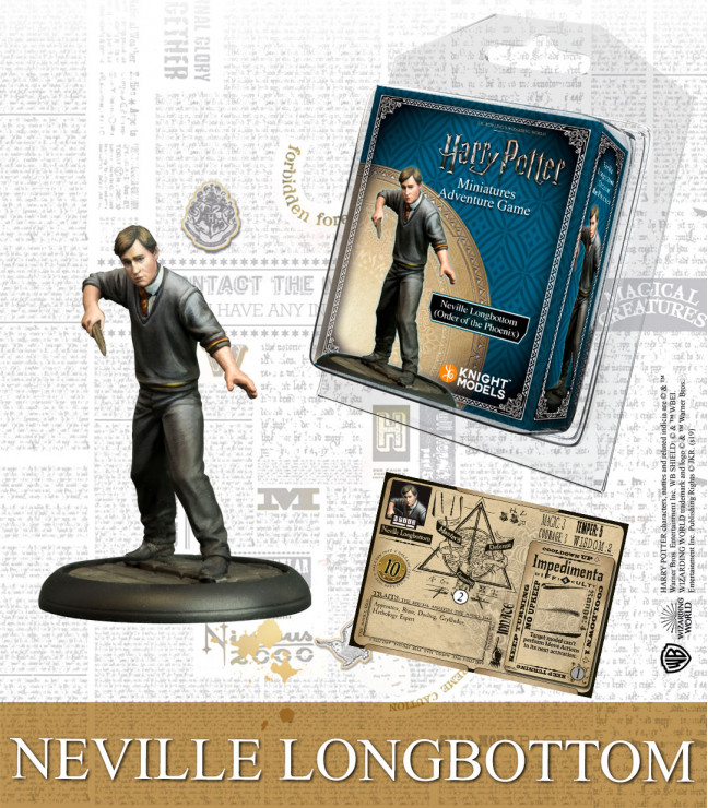 NEVILLE LONGBOTTOM ORDER OF THE PHOENIX (ENGLISH)