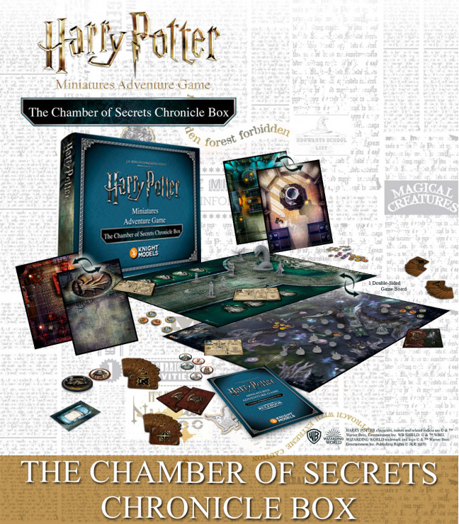 THE CHAMBER OF SECRETS: CHRONICLE EXPANSION (ENGLISH)