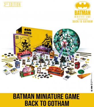 Batman Miniature Game + Back To Gotham + Bane The Bat