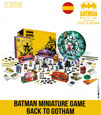 BATMAN MINIATURE GAME BACK TO GOTHAM SPANISH