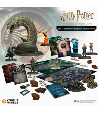 HARRY POTTER MINIATURES ADVENTURE GAMES CORE BOX + THE CHAMBER OF SECRETS: CHRONICLE EXPANSION (ENGLISH)