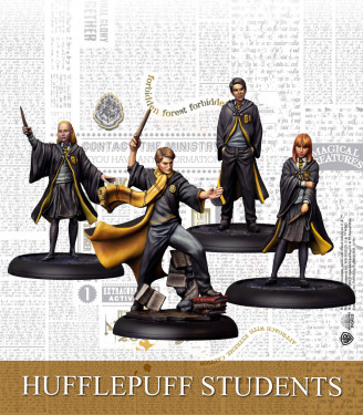 Harry Potter Miniature Game: Hufflepuff Students Spanish