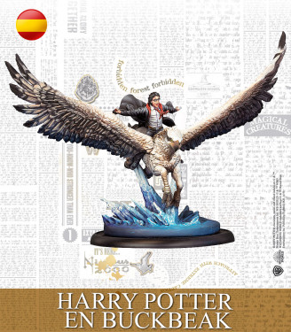 Harry Potter Miniature Game: Harry en Buckbeak Spanish