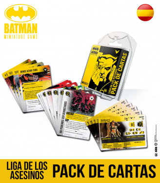 Batman Miniature Game League Of Assassins Card Pack Spanish
