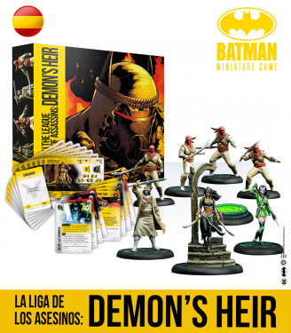 THE LEAGUE OF ASSASSINS: DEMON'S HEIR UPDATE VERSION SPANISH