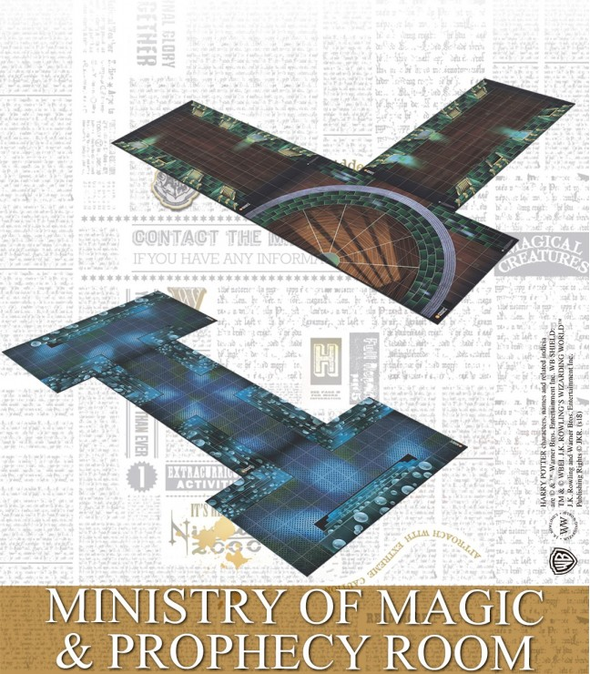 MINISTRY OF MAGIC & PROPHECY ROOM (ENGLISH)