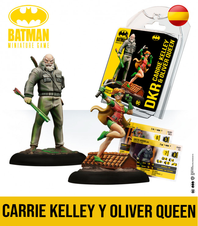 Batman Miniature Game: Oliver Queen & Carrie Kelley English