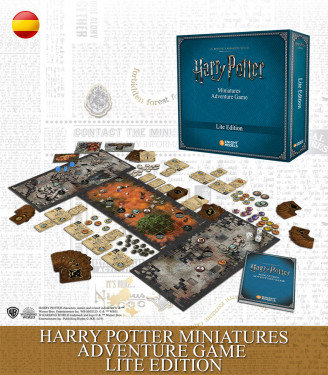 Harry Potter Miniatures Adventure Game: Lite Edition Spanish