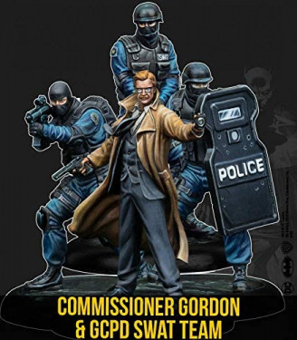 Batman Miniature Game 2nd Edition Starter Set Gordon & GCPD Swat English