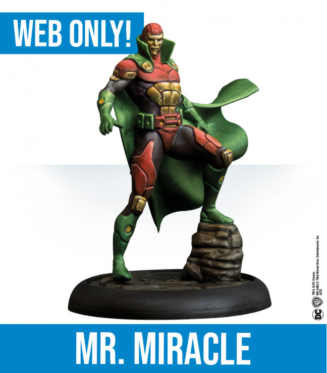 Dc Miniature Games: Mr Miracle English