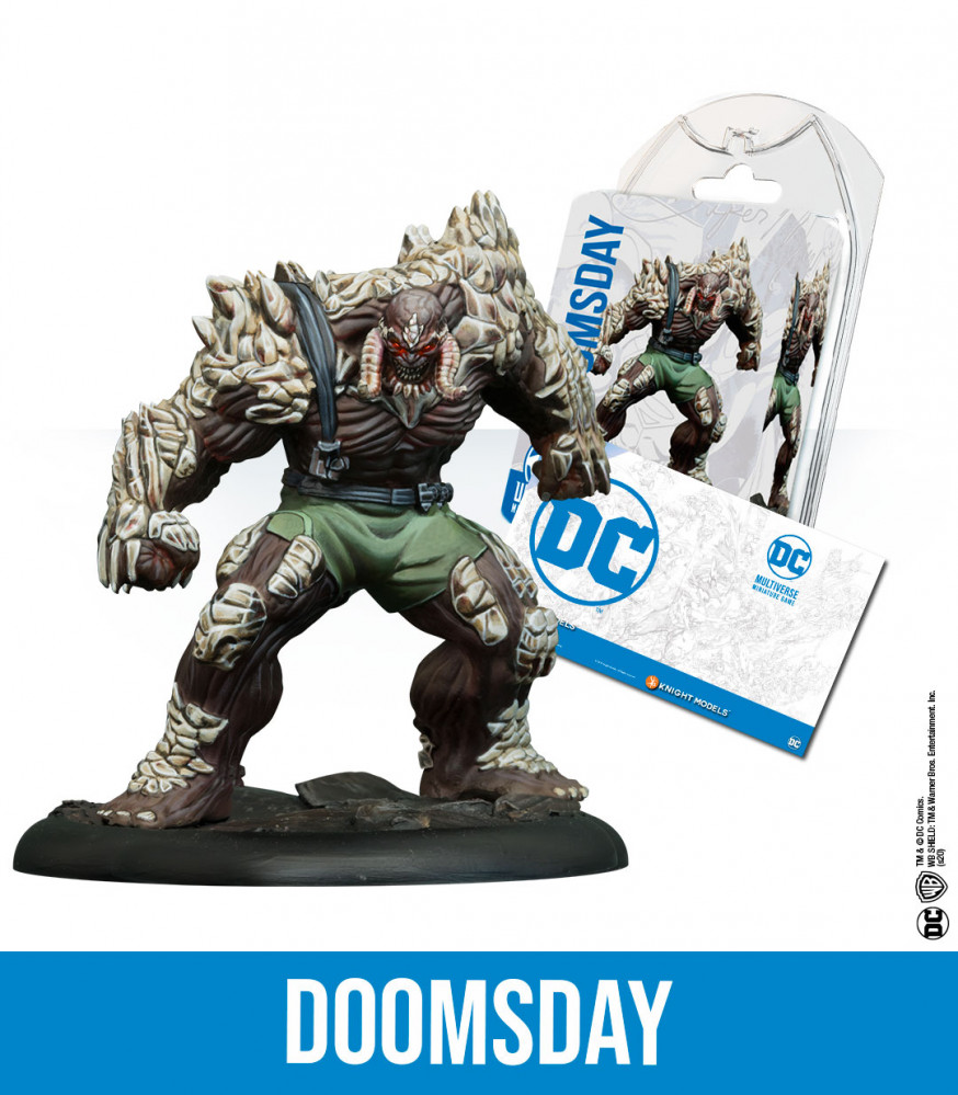 Tabletop Miniature Game Resina Dc Comics Superhero Doomsday