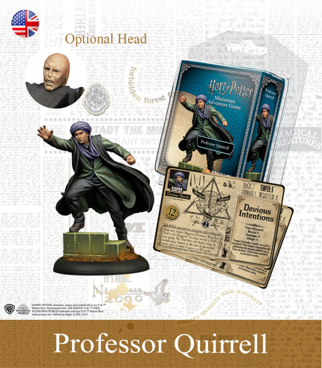 Harry Potter Miniature Game: Quirrel English