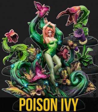 POISON IVY AND PLANTS (COMIC) (MULTIVERSE)