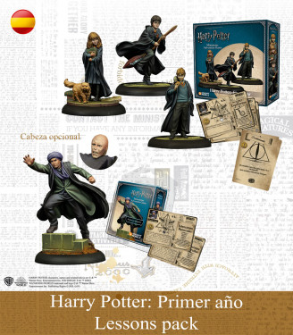 Harry Potter Miniature Game: First Years Lessons Pack Spanish