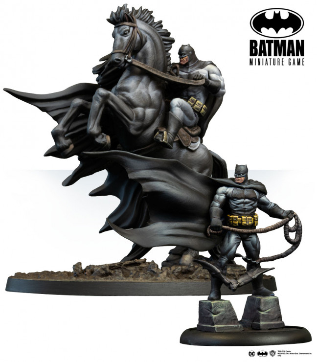 Batman Miniature Game: Batman Horse (Frank Miller) Eng