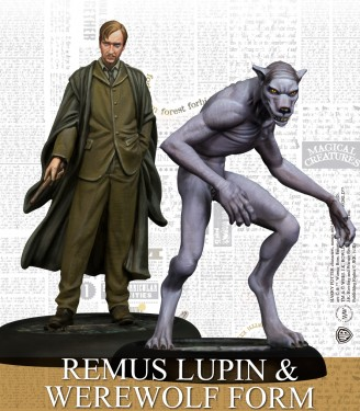 REMUS LUPIN & WEREWOLF FORM (ENGLISH)