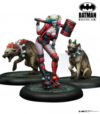 Batman Miniature Game Harley Quinn Rebirth (MULTIVERSE)