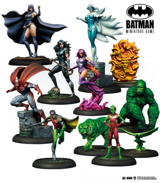 Batman Miniature Game: Teen Titans Bat-Box