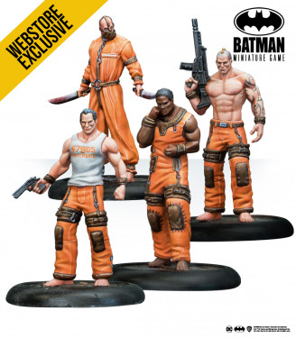 Batman Miniature Game: Blackgate Prisioners