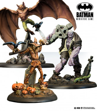 Batman Miniature Game: Terror in Gotham