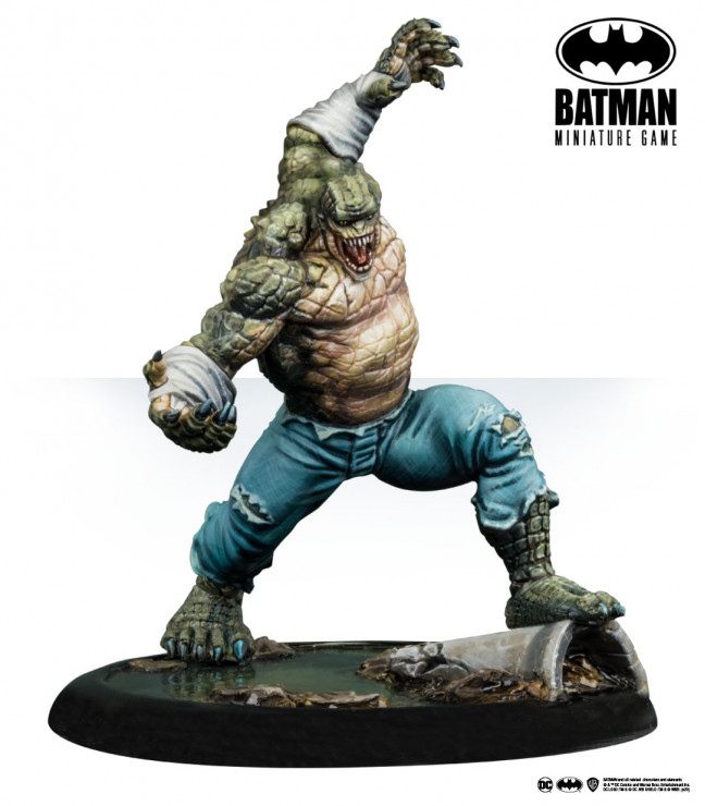 Batman Miniature Game: Killer Croc (Multiverse)