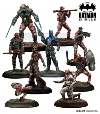 Batman Miniature Game: Militia: Invasion Force