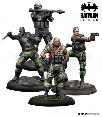 Batman Miniature Game: Bird & Mercs