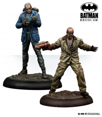 Batman Miniature Game: Captain Cold & Heatwave
