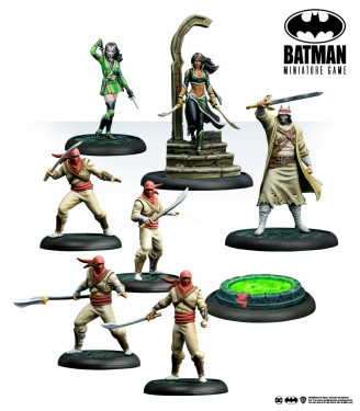 Batman Miniature Game: The League Of Assassins: Demon's Heir