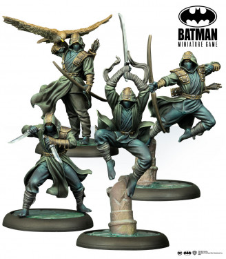 Batman Miniature Game: League Of Assassins Acolytes English