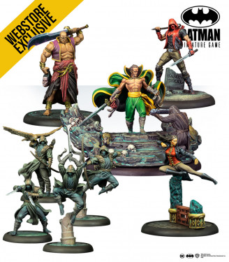 Batman Miniature Game: Ra's al Ghul English