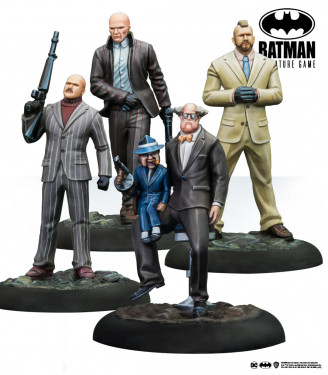 Batman Miniature Game: Ventriloquist & Mobsters