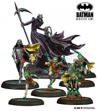 Batman Miniature Game: Batman Who Laughs English