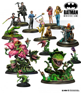 Batman Miniature Game: Web Bundle Birds of Prey English