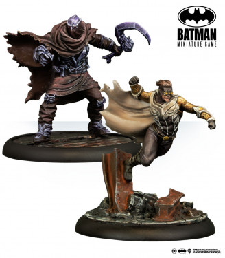 Batman Miniature Game: Calvin Rose & Dementor