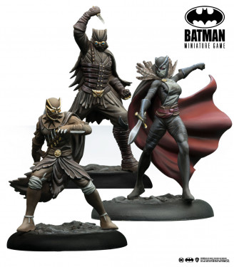 Batman Miniature Game: The Parliament