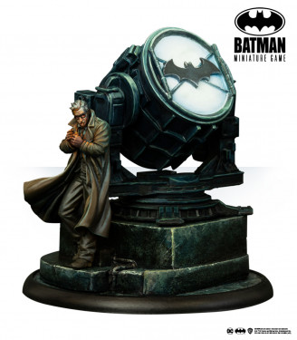Batman Miniature Game: Commissioner Gordon (Back to Gotham)