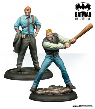 Batman Miniature Game: Lieutenant Gordon & Detective Flass Year One