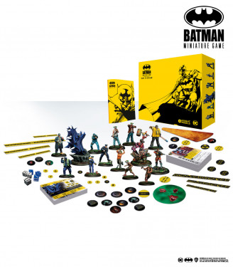 Batman Miniature Game: Back to Gotham - Player Box