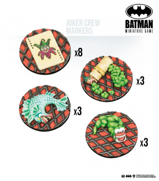 Batman Miniature Game: Joker Crew Markers