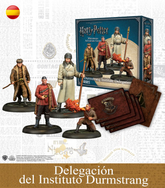 Harry Potter Miniatures Game: Delegación del Instituto Durmstrang