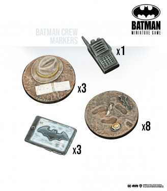 Batman Miniature Game: Batman Crew Markers