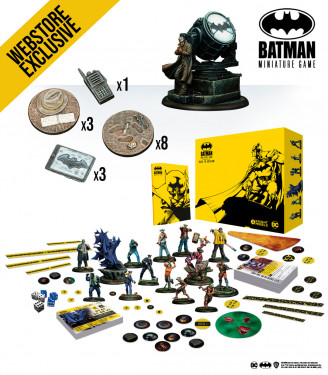 Batman Miniature Game: April 2021 Batman Bundle