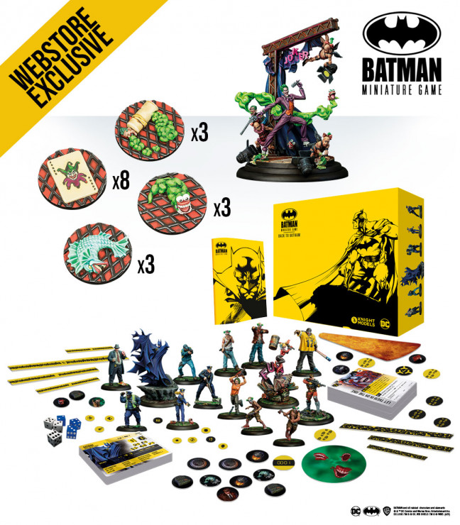 Batman Miniature Game: April 2021 Joker Bundle